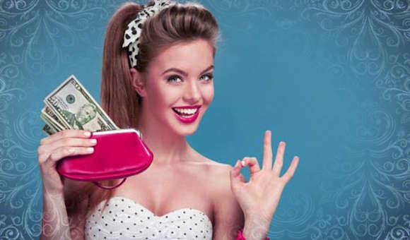 Идеальный дамский кошелек для денег