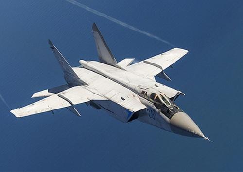 МиГ-31 разбился в Нижегородской области