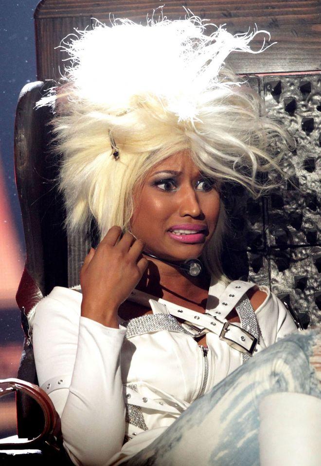 На всю голову: 20 причёсок Ники Минаж, от которых мы смеялись до слёз волосы,знаменитости,красота,мода и красота,Ники Минаж,прически