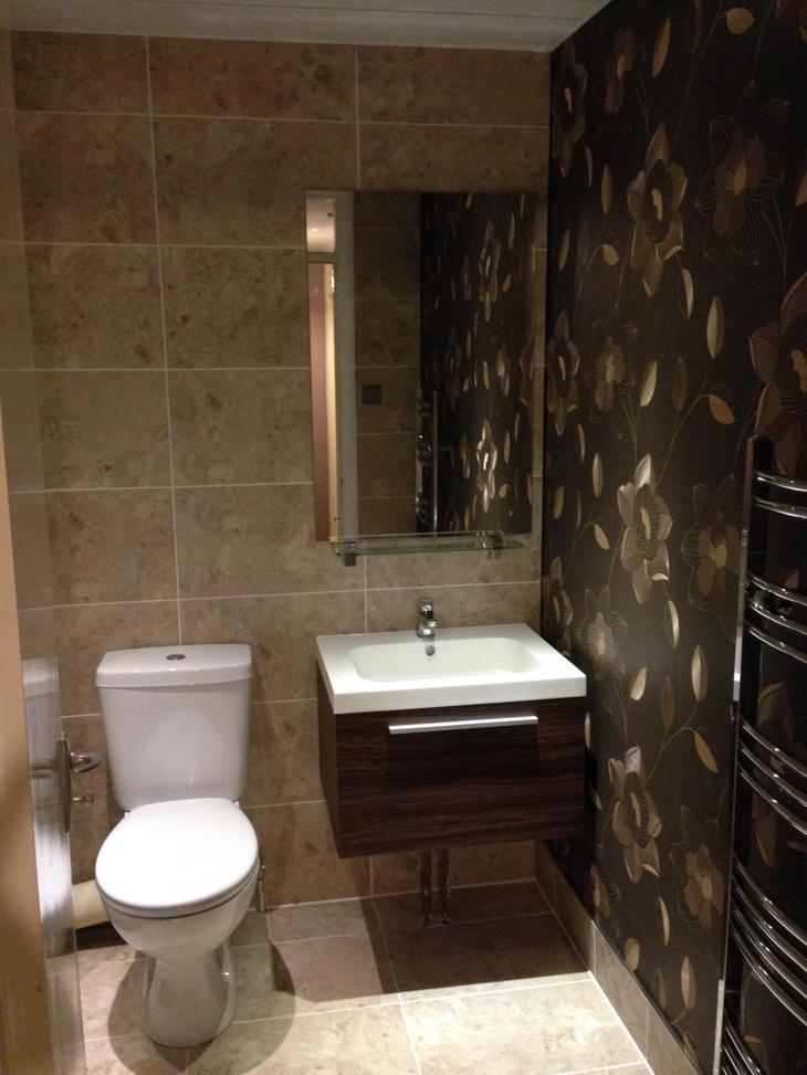 Как я делал ремонт в ванной ремонт, ремонт в ванной