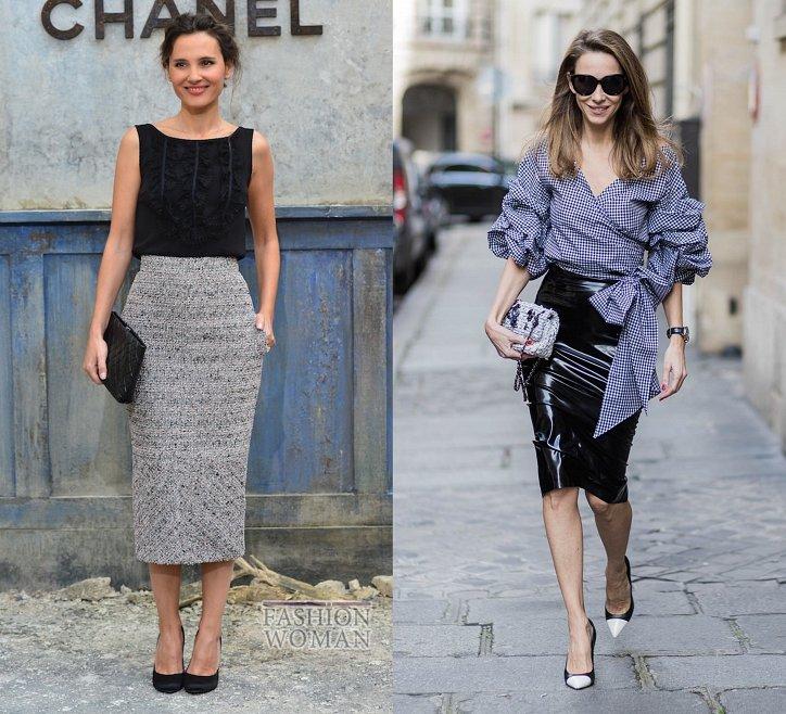 С чем носить юбку-карандаш и выглядеть модно фото №1