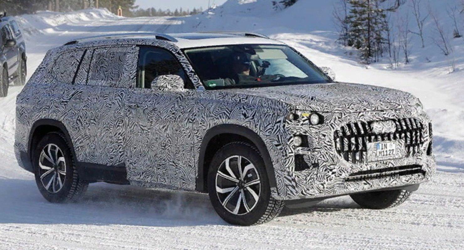 Появились первые изображения внедорожника Audi Q9 Автомобили