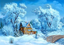 Читаем детям зимние сказки