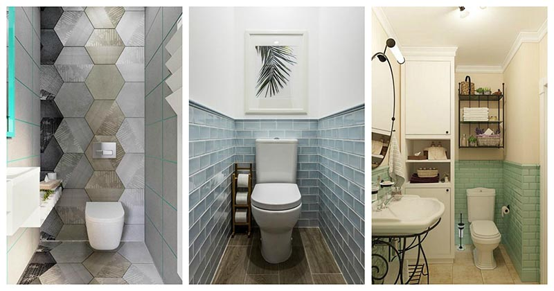 Дизайнерский шедевр на паре кв. м. — 30 идей для туалета