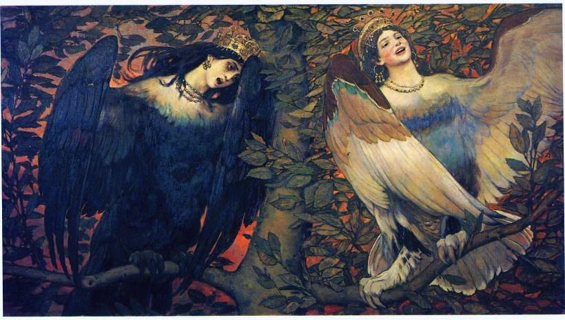 Крылатые существа славянских народных сказок