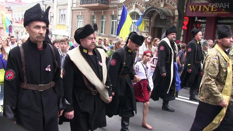 Принудительная украинизация …