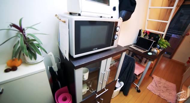 Типичная японская квартира площадью в 8 квадратных метров поражает своей эргономичностью