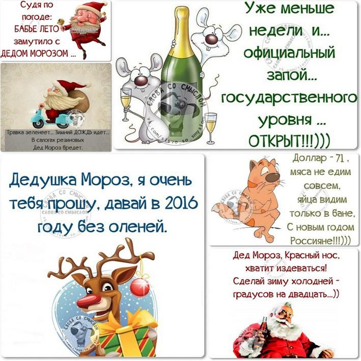 В Новый год с юмором