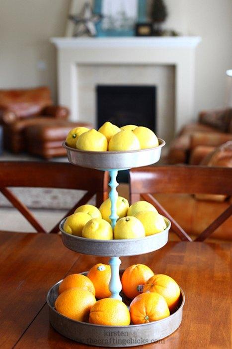 Идея №7: лимоны и апельсины в интерьере