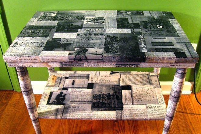Преображение столешницы стола
