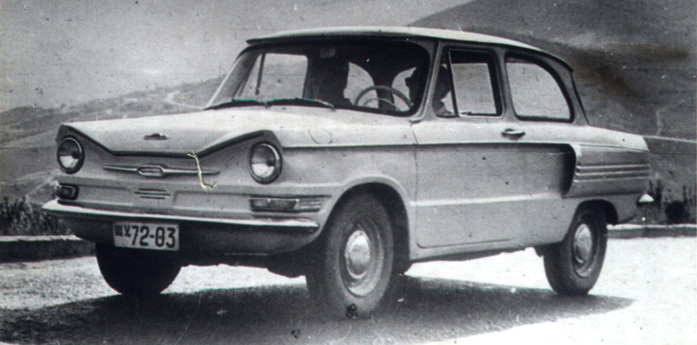 Каким мог быть «Запорожец» авто, заз, запорожец, история