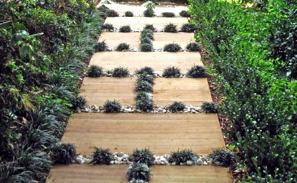 Японская садовая дорожка дача, дорожки, сад