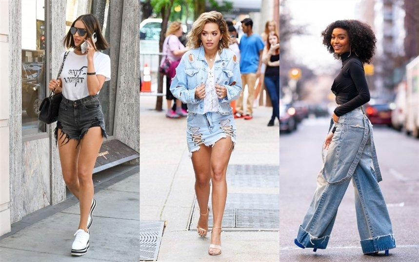 15 сексуальных нарядов с рваными джинсами гардероб,мода и красота,модные тенденции,одежда и аксессуары