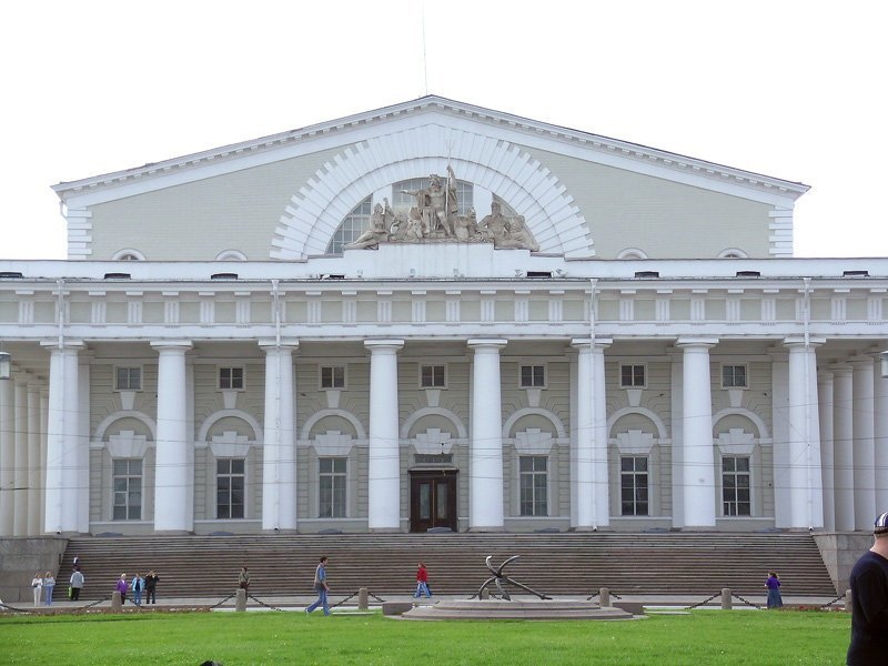 18-Здание Биржи Красивые здания, СПб, питер