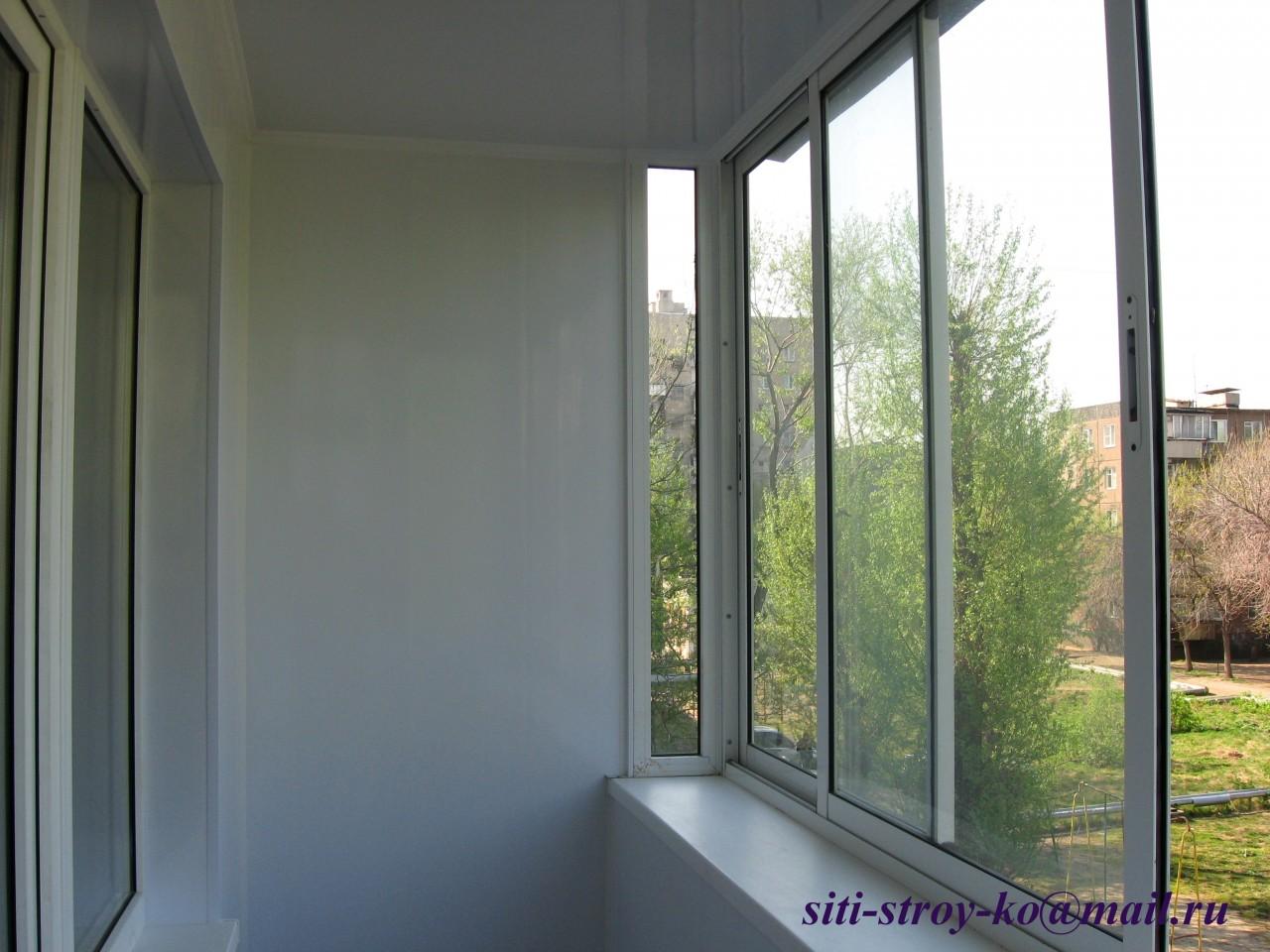 Отделка балконов, лоджий в Челябинске и по области в г.Челяб.