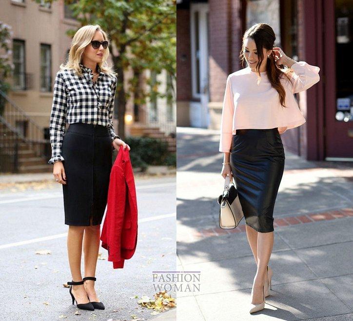 С чем носить юбку-карандаш и выглядеть модно фото №8
