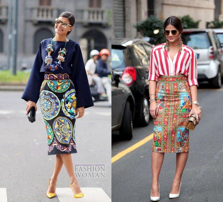 С чем носить юбку-карандаш и выглядеть модно фото №10