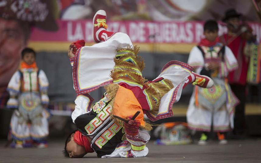 Перуанская традиция танцев с…