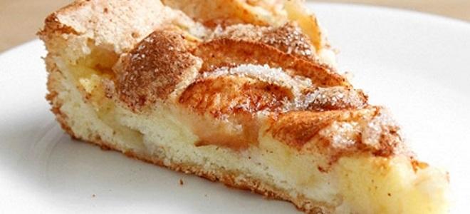 Пирог «Шарлотка» с яблоками - рецепт