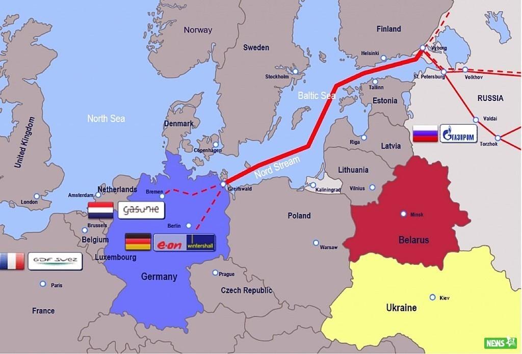Киев повысит цену транзита газа в 10 раз после ввода «Северного потока-2»