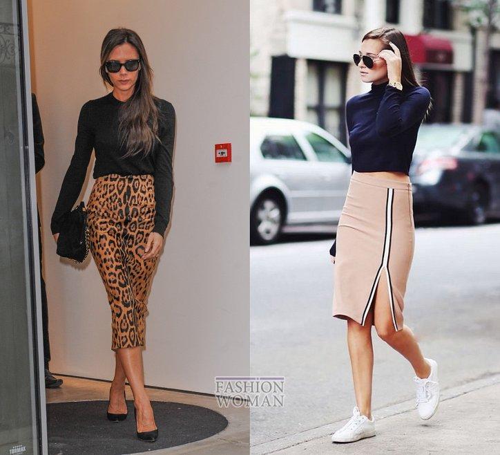 С чем носить юбку-карандаш и выглядеть модно фото №11