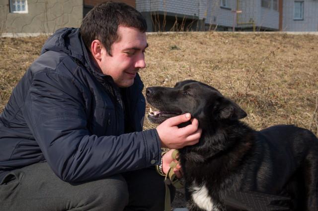 Брошенный слепой пес из Твер…