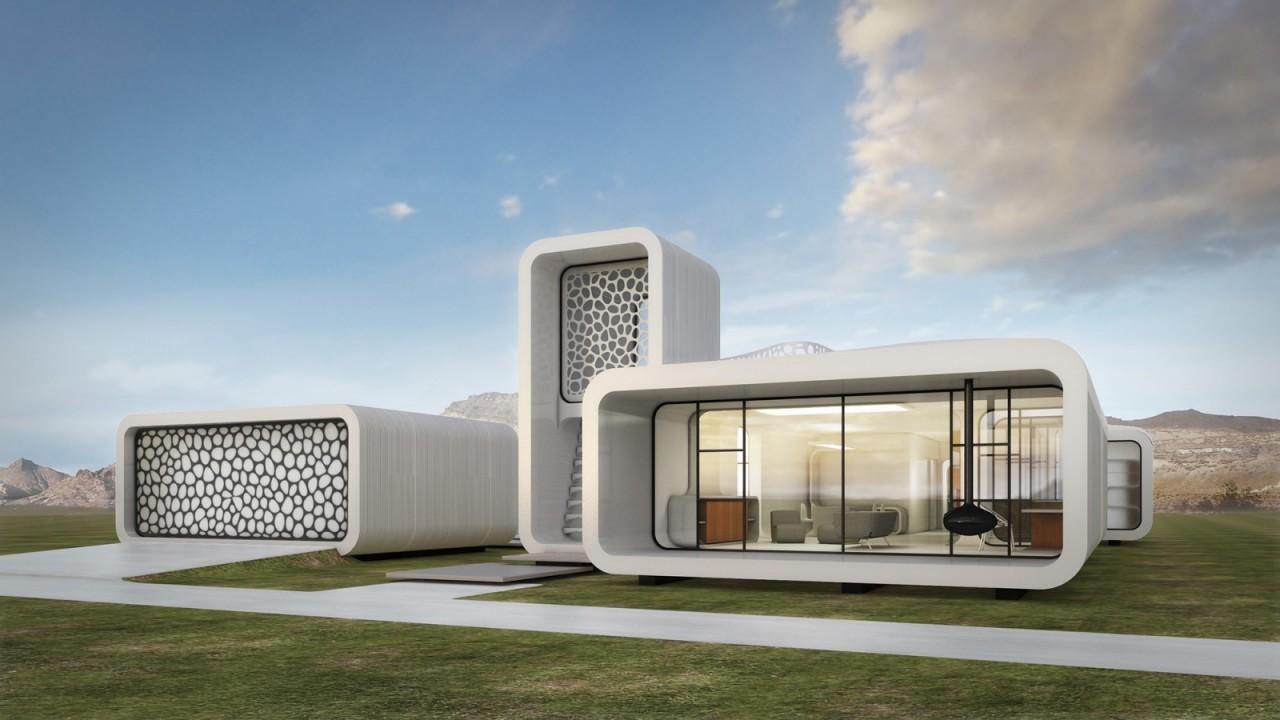В Дубае напечатали здание на 3D принтере за 19 дней