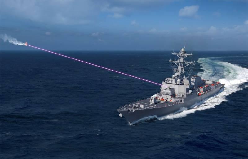 Зенитные и ослепляющие. Проекты корабельных боевых лазеров для ВМС США вмф,оружие