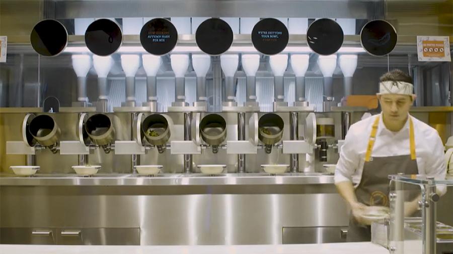 Ну и гаджеты: роботизированный ресторан, куртка дополненной реальности и теннисный дрон
