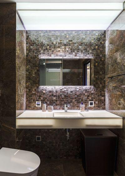 Лофт Ванная комната by Михаил Новинский (MNdesign)