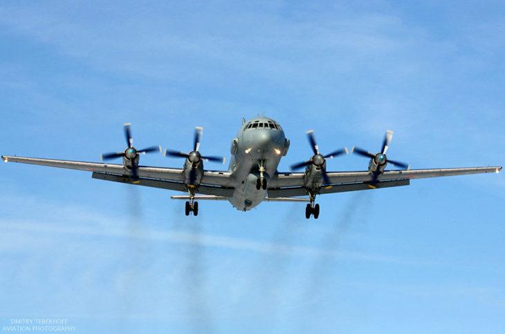 Российский Ил-20 исчез с рад…