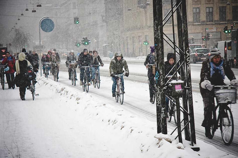 Cоветs для поездки на велосипеде зимой