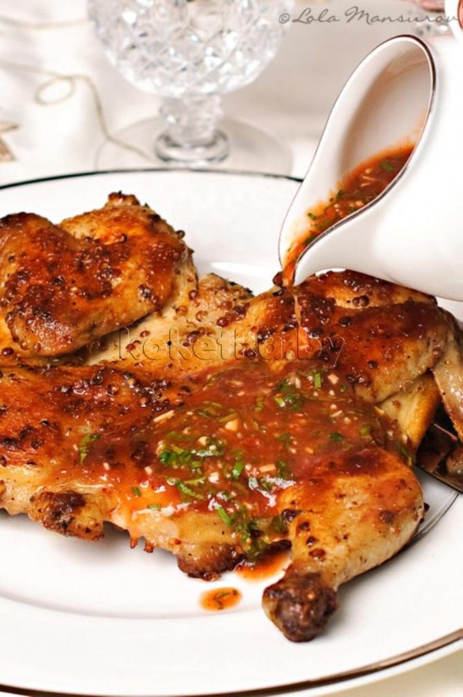 Цыпленок табака классический рецепт с фото