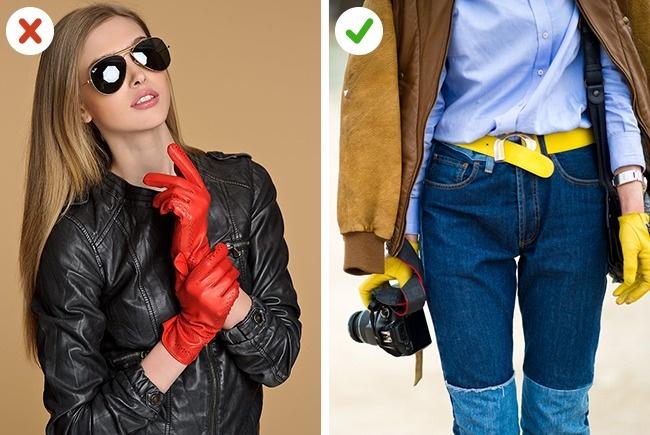Как правильно сочетать аксессуары с одеждой