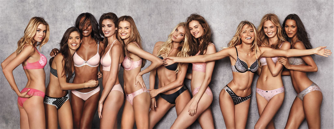 Горячая съемка новых ангелов Victoria's Secret девушки
