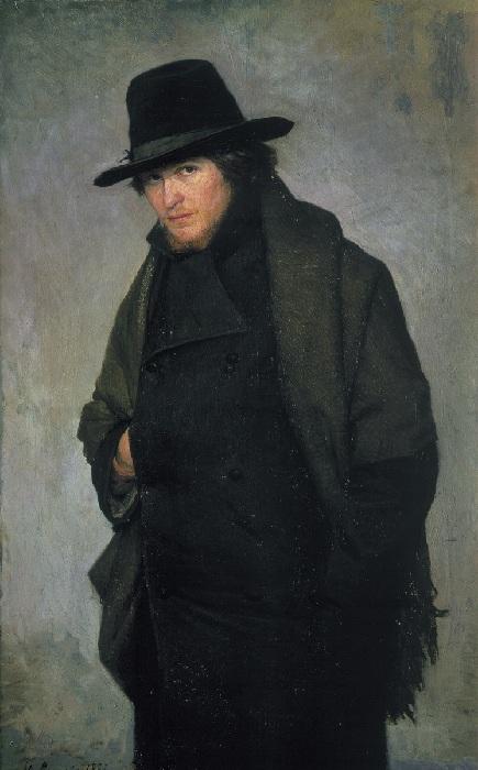 «Студент». (1881 год). Автор: Н. Ярошенко.