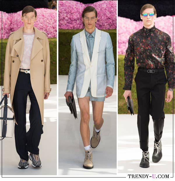 Мужские сумки Dior Homme весна-лето 2019