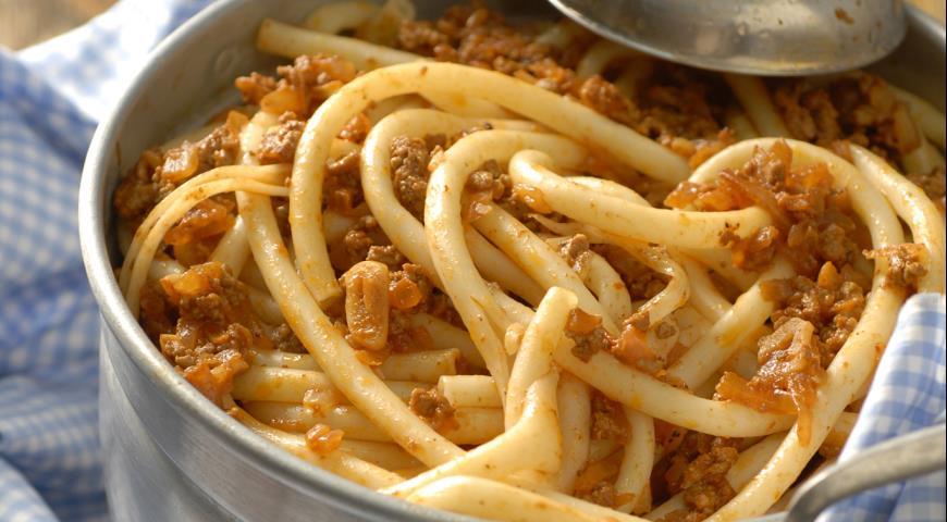 макароны по флотски простой рецепт с фаршем