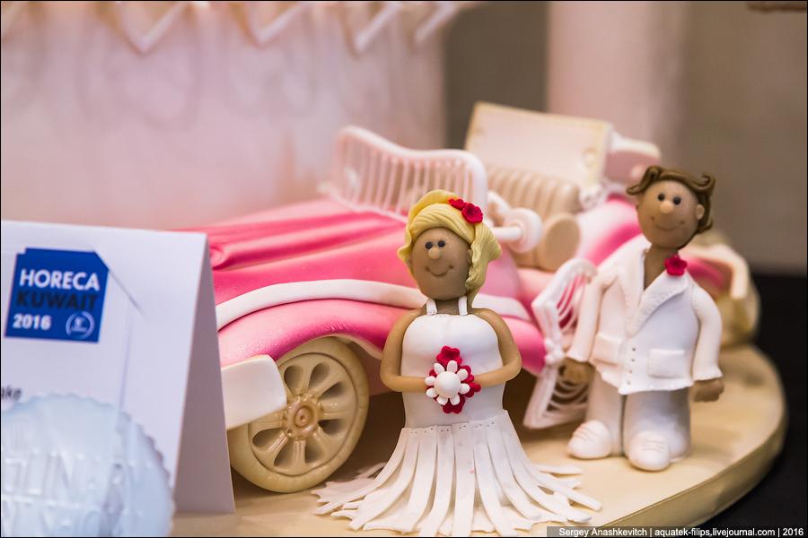 Чемпионат свадебных тортов в Кувейте