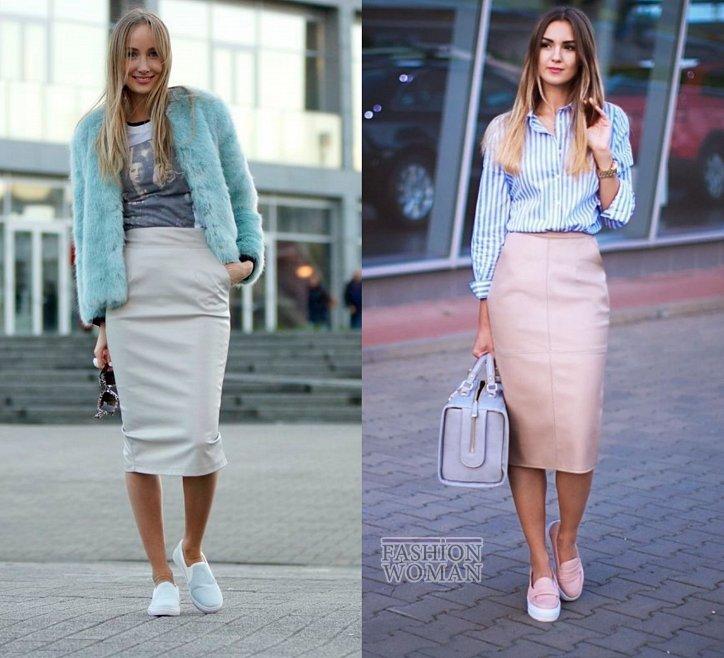 С чем носить юбку-карандаш и выглядеть модно фото №29