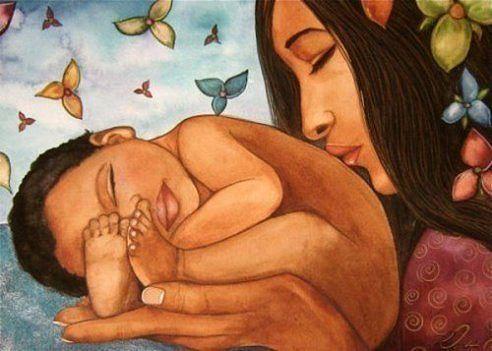Связь матери и ребенка. Мама…
