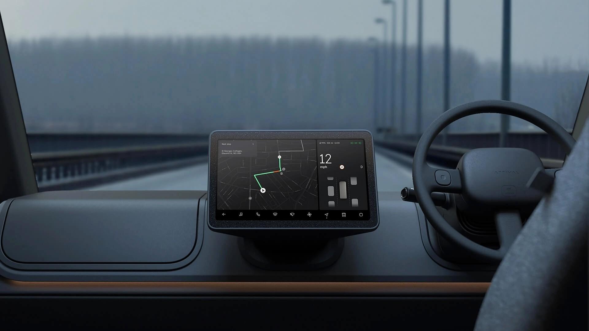 «Буханки» не будет: Arrival изменил дизайн своего электрического фургона авто,авто и мото,автосалон,водителю на заметку,машины,новости автомира,Россия,тюнинг