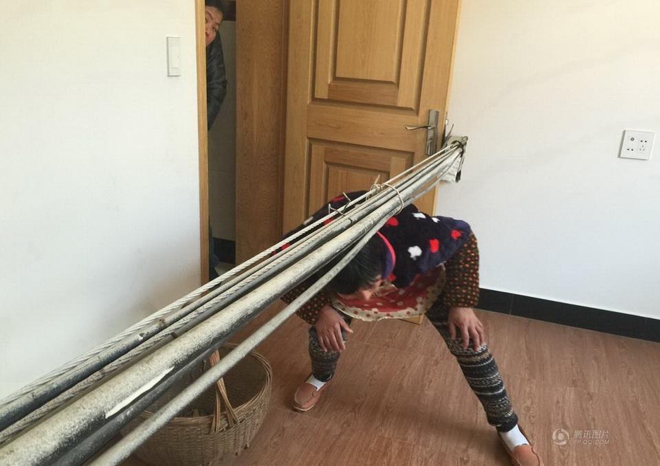 Дом с кабелем в Китае