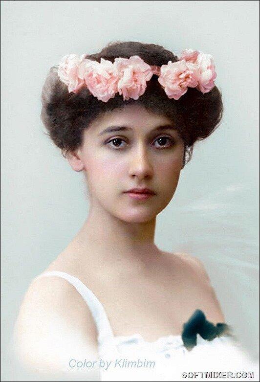Красавицы царской России в колоризированных фото