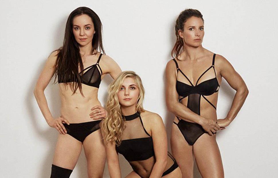 Британские олимпийские спортсменки разделись для фотосессии во имя пропаганды спорта