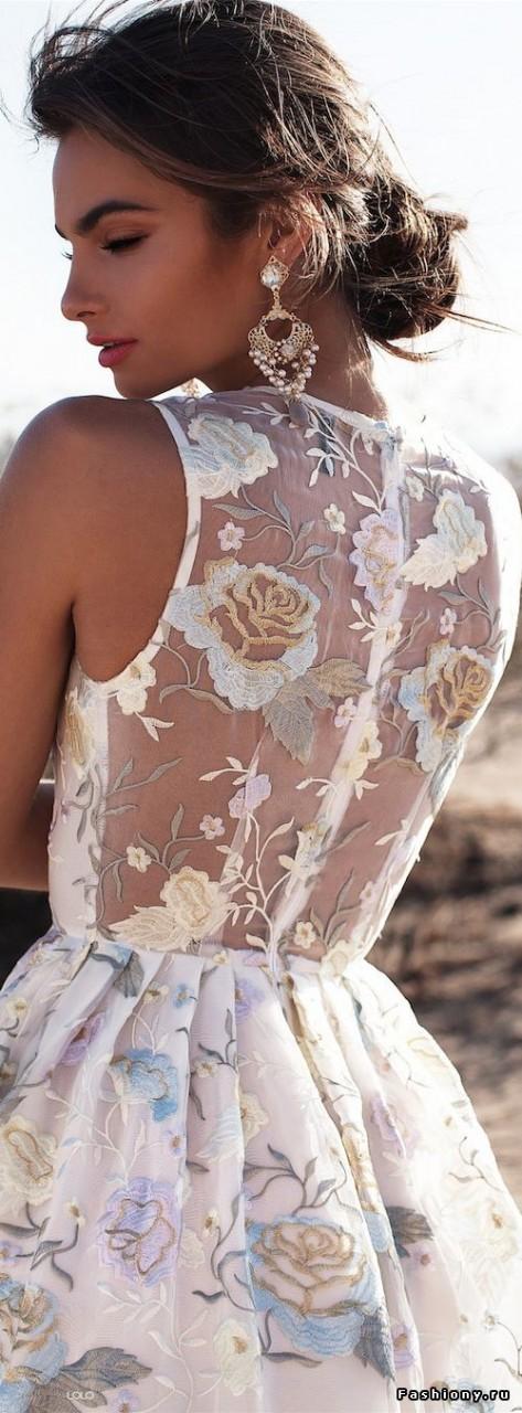 Вечный тренд жеркого сезона - кружево. Подборка прекрасных летних нарядов весна-лето,лучшее,мода,модный обзор,Наряды,образ,стиль,тренды