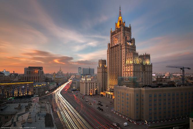 Москва c крыш