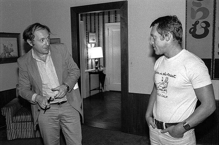 С Иосифом Бродским, который очень ценил барда Бард, Владимир Высоцкий, актер, знаменитости, интересно, певец, фото