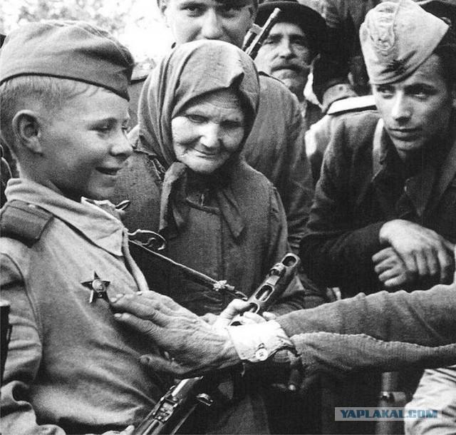 Самые трогательные фотографии отечественной войны