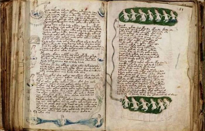 Неразгаданная тайна рукописи Войнича.